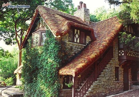 "Hand Crafted ""Gingerbread"" Roof Using Cedar Shingles On A"