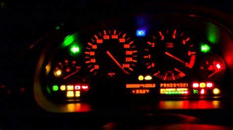 bmw warning lights e46 bmw e39 dashboard test youtube