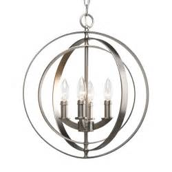Orb Chandelier Canada Progress Lighting P3827 4 Light Equinox Sphere Foyer Light