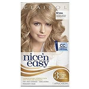 neutral hair color clairol n easy hair color 103a