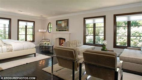 kim kardashians bedroom kim kardashian s 4 8million mansion pictured for the
