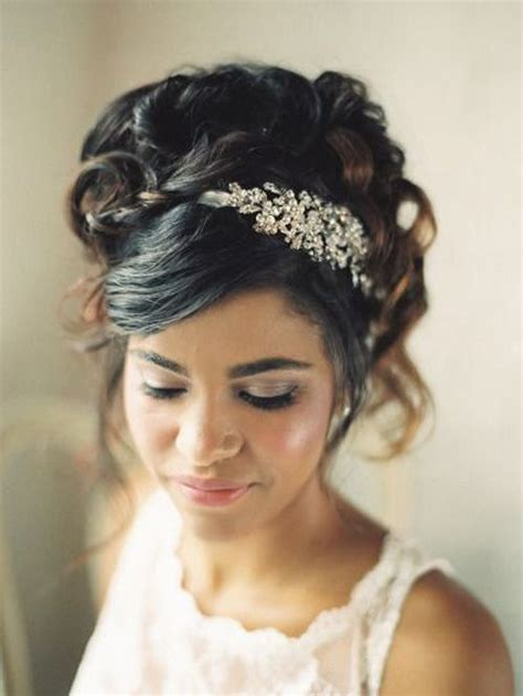 Vintage Wedding Hairstyles With A Headband by Black Hair Exclusive Vintage Curly Wedding Hairstyles With