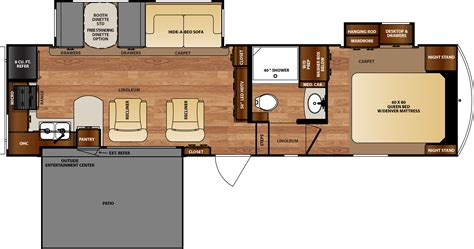 wildcat rv floor plans wildcat fifth wheels floorplans by forest river rv