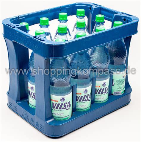 1 kasten wasser mineralwasser vilsa brunnen mineralwasser medium kasten