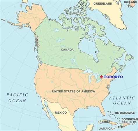 canadian map toronto maps of toronto