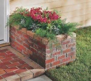 How To Build A Brick Planter by Best 25 Brick Planter Ideas On
