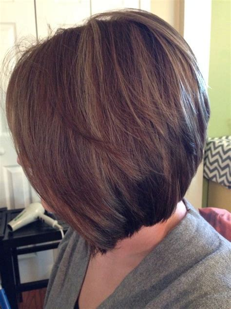 reverse layered haircut 310 best bob inspiration images on pinterest fashion