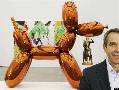 Mugrabi's Orange Crush Jeff Koons Balloon Sculpture