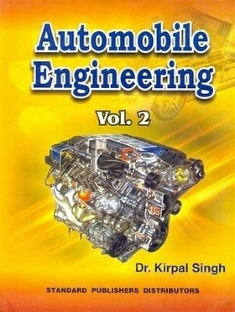buy second engineering books india automobile engineering volume 2 12th edition buy