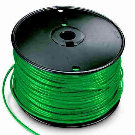 solid 14 thhn wire green 100ft bundle wiring products