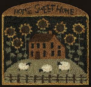 Salt Box House Teresa S Creative Whims Another New Punchneedle Pattern