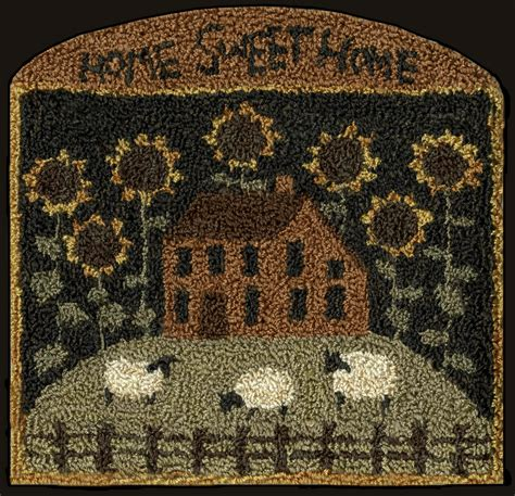 punch needle rug patterns teresa s creative whims another new punchneedle pattern