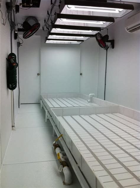 shipping container grow room mobile farming systems inc secures investment from hydroponic investments llc mobile
