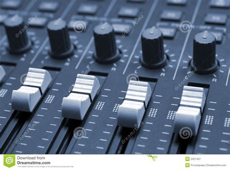 studio mixer desk studio mixing desk royalty free stock photography image
