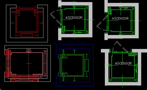 How To Draw Floor Plan In Autocad Elevator Dwg Block For Autocad Designs Cad