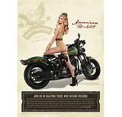 UpdateMarisa Miller Helps Harley Davidson Salute The