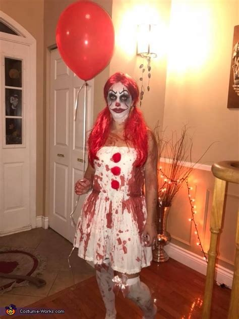 diy female pennywise costume