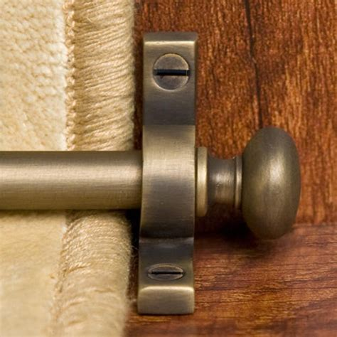 Antique Brass Kitchen Cabinet Handles by Solid Brass Classic Stair Rod Set Hardware