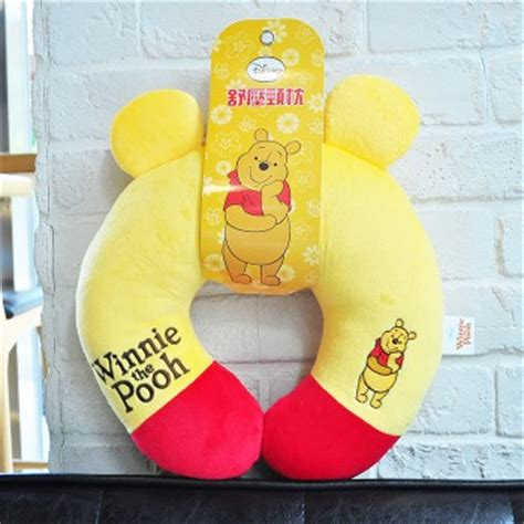 disney winnie the pooh plush u shape neck pillow travel