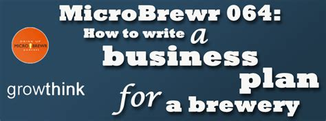 brewery business plan template brewery business plan template microbrewr 064 how to write