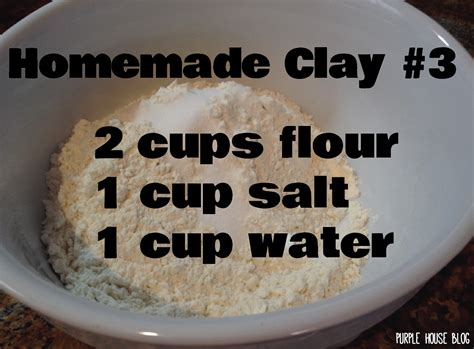 how to make a salt l how to make clay without flour or cornstarch or glue
