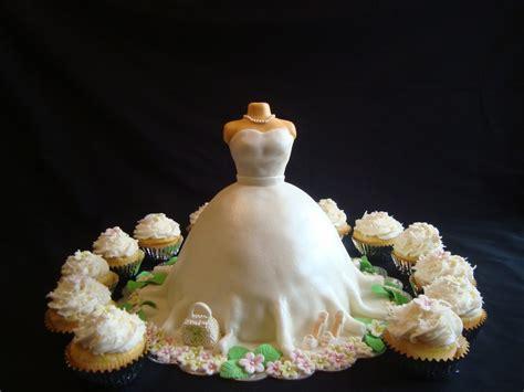 bridal shower cupcake dress cake bridal shower wedding dress cake cupcakes cakecentral