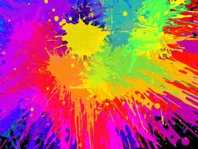 effects of colors vector color paint splashing effect free vector in