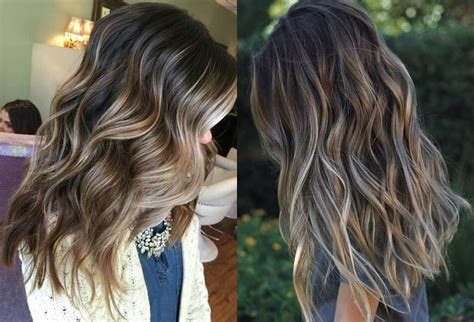 hairstyles highlights 2017 fabulous dark hair with blonde highlights 2017 hairdrome com