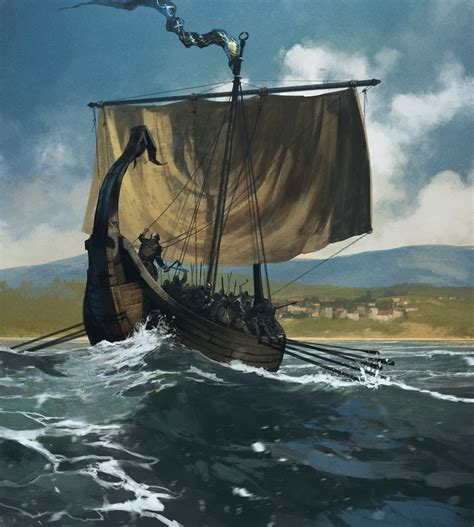 viking longboat wallpaper file tomasz jedruszek longship raider jpg a wiki of ice