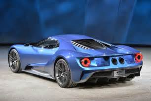 Ford Gt Prototype Ford Gt Concept Detroit 2015 Photo Gallery Autoblog