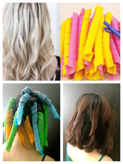 how to hook sprial hair set of 8 spiral hair curlers bellechic