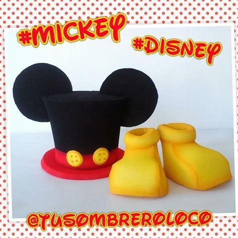 patron para hacer zapatos disfraz de mickey mouse 1000 images about sombreros cotillon on pinterest