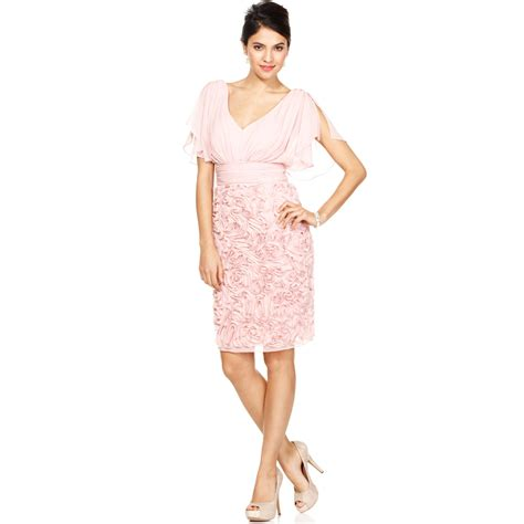 Of Dresses Macys by Js Collections Split Sleeve Embroidered Dress In Pink