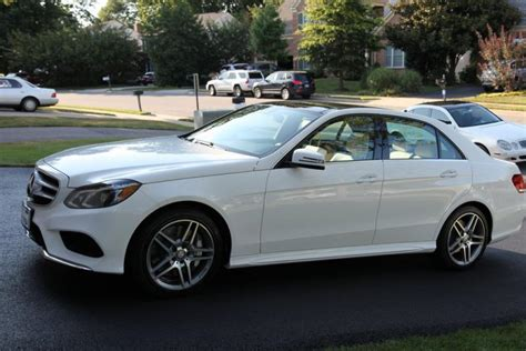 2014 Mercedes E550 4matic by 2014 Polar White E550 4matic Arrived Mbworld Org Forums