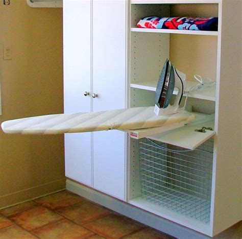 pull out ironing board cabinet pull out ironing board cabinet ideas
