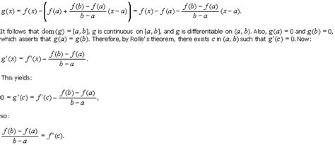 5 1 the mean value theorem