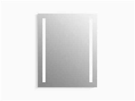 kohler lighted medicine cabinet k 99007 tl verdera 174 lighted medicine cabinet 24 quot w x 30