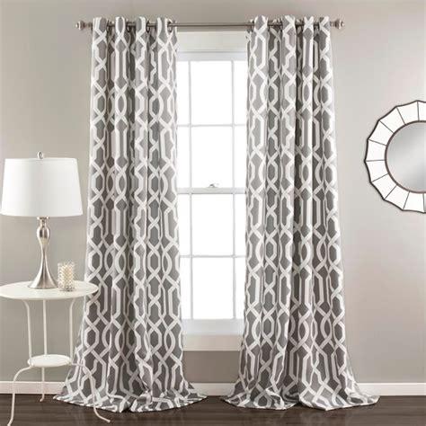 gray white curtains edward room darkening curtain panels set of 2 target