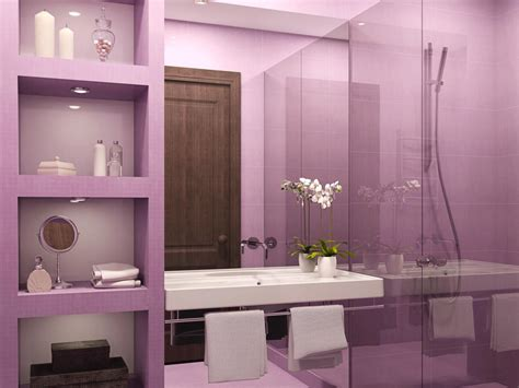 Pink Bathrooms Decor Ideas by