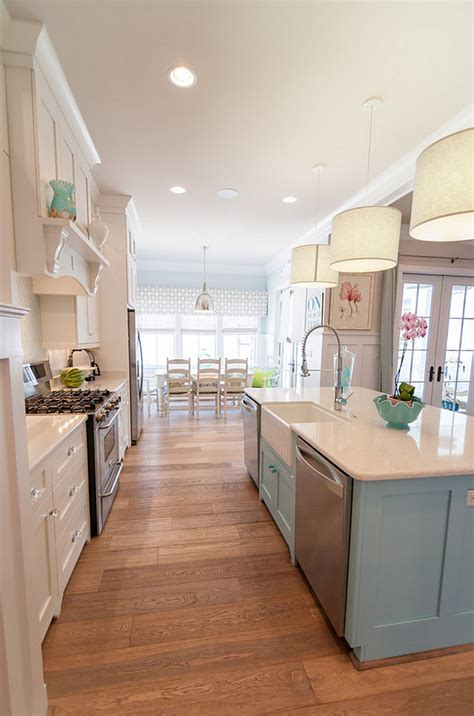 paint kitchen island house coastal paint color ideas home bunch