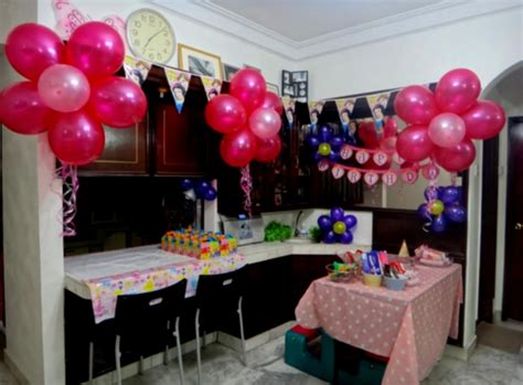 birthday decoration ideas at home with balloons diy birthday party decorations decoration ideas princess
