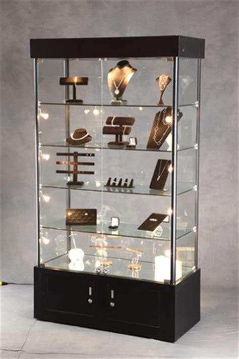 lighted display shelves lighted tower display display cabinet lighted