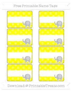 pattern for name tags free dodger blue dotted pattern elephant name tags