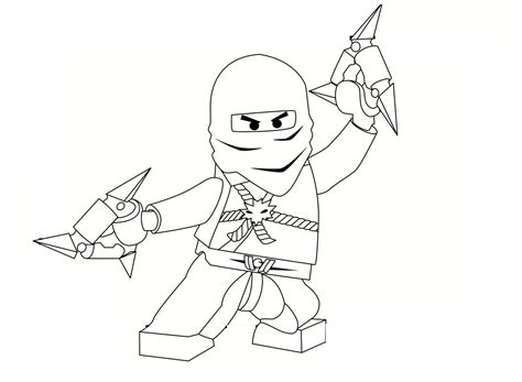 free printable ninjago coloring pages for