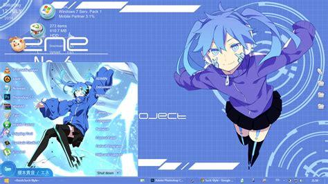 themes for windows 8 1 anime anime skin theme win 7 enomoto takane ene meikaku