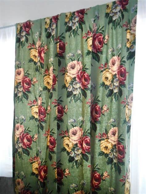 vintage barkcloth curtains 17 best images about fabulous vintage barkcloth on