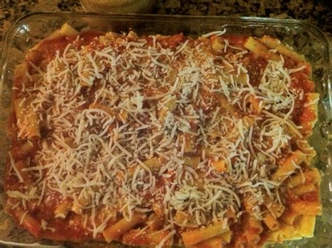 baked ziti recipe cottage cheese healthy kid friendly