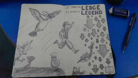Man On A Ledge 2 Twitch Plays Pokemon Know Your Meme - every day is ledge day twitch plays pokemon know your meme