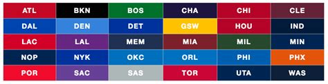 basketball team colors github xxhomey19 nba color get all nba team s color