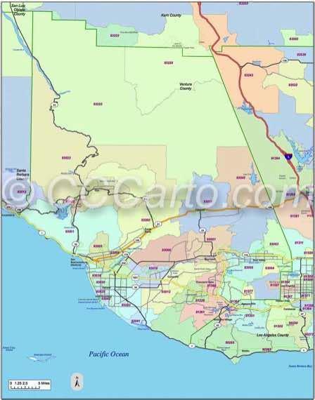 thousand oaks zip code map ventura ca zip codes ventura county zip code boundary map